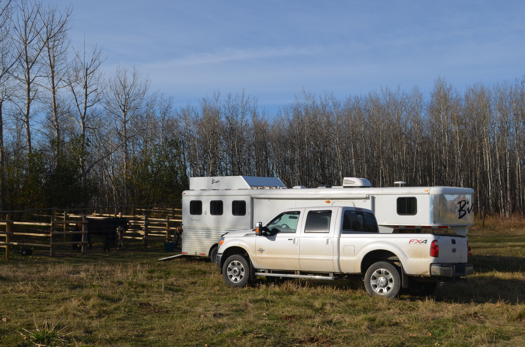 Trailer at Amazing Horse Country